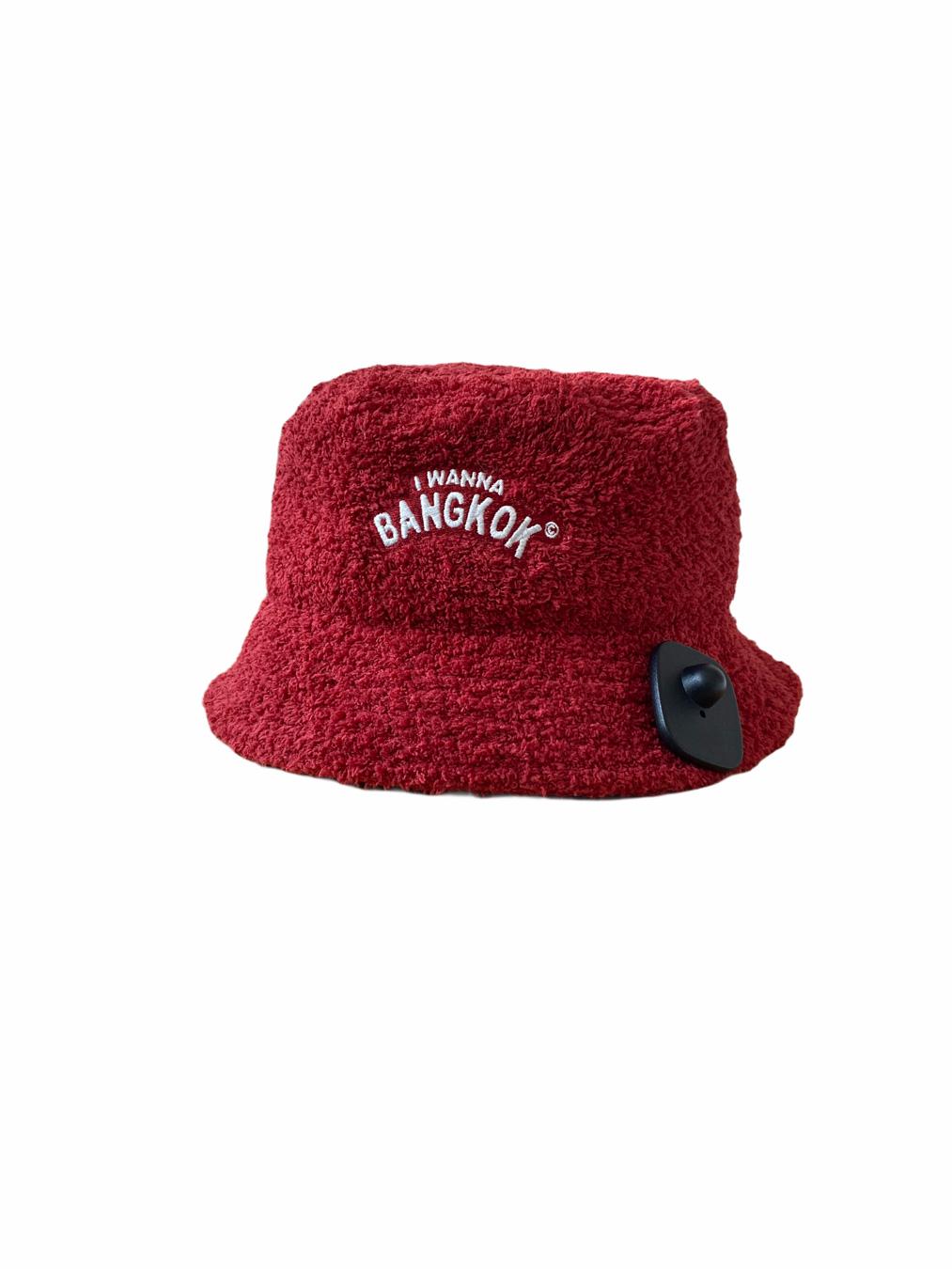 Towel Bucket (Red)