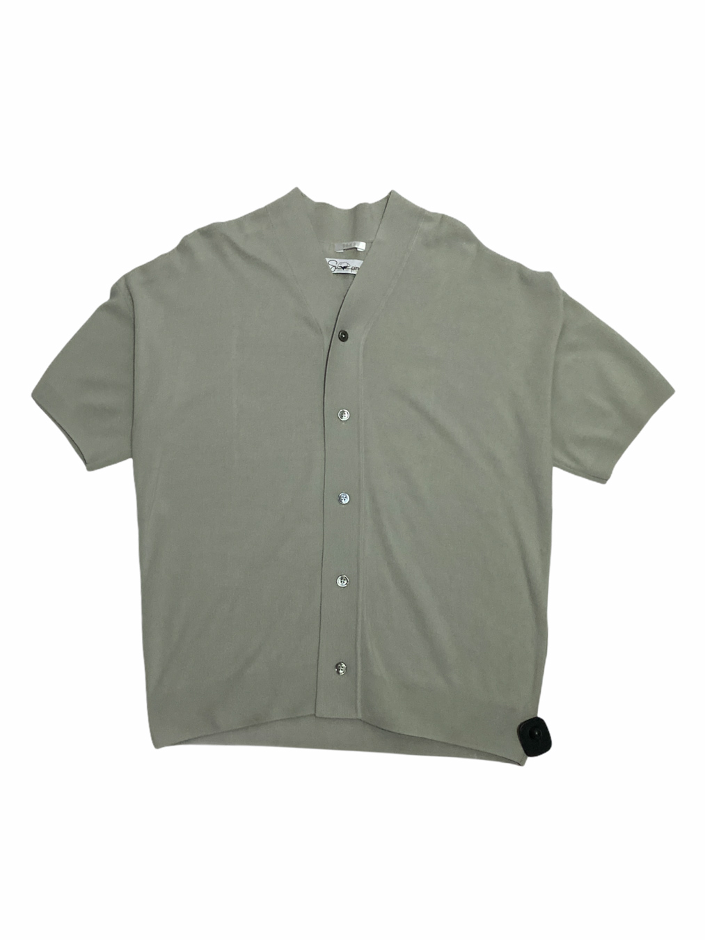 Pima Cotton Short Sleeve Cardigan