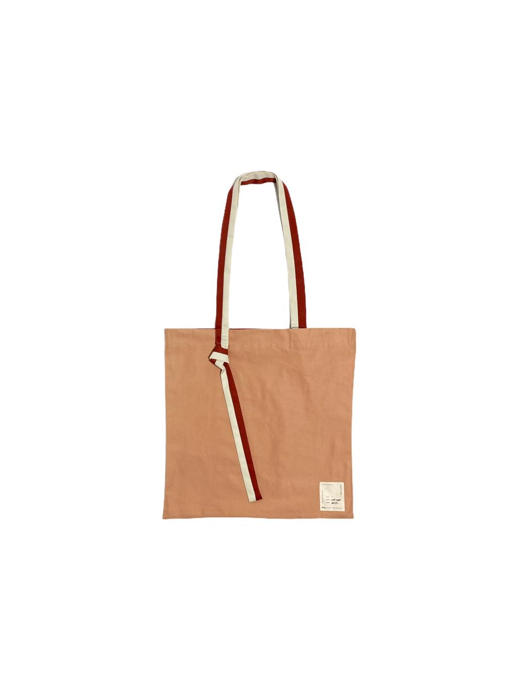 Why Knot Tote Bag (Brick)
