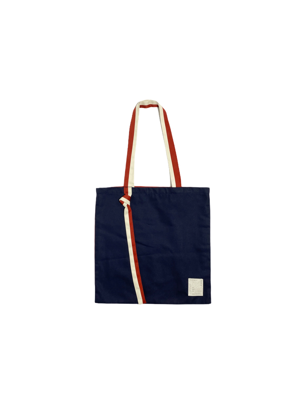 Why Knot Tote Bag (Navy)