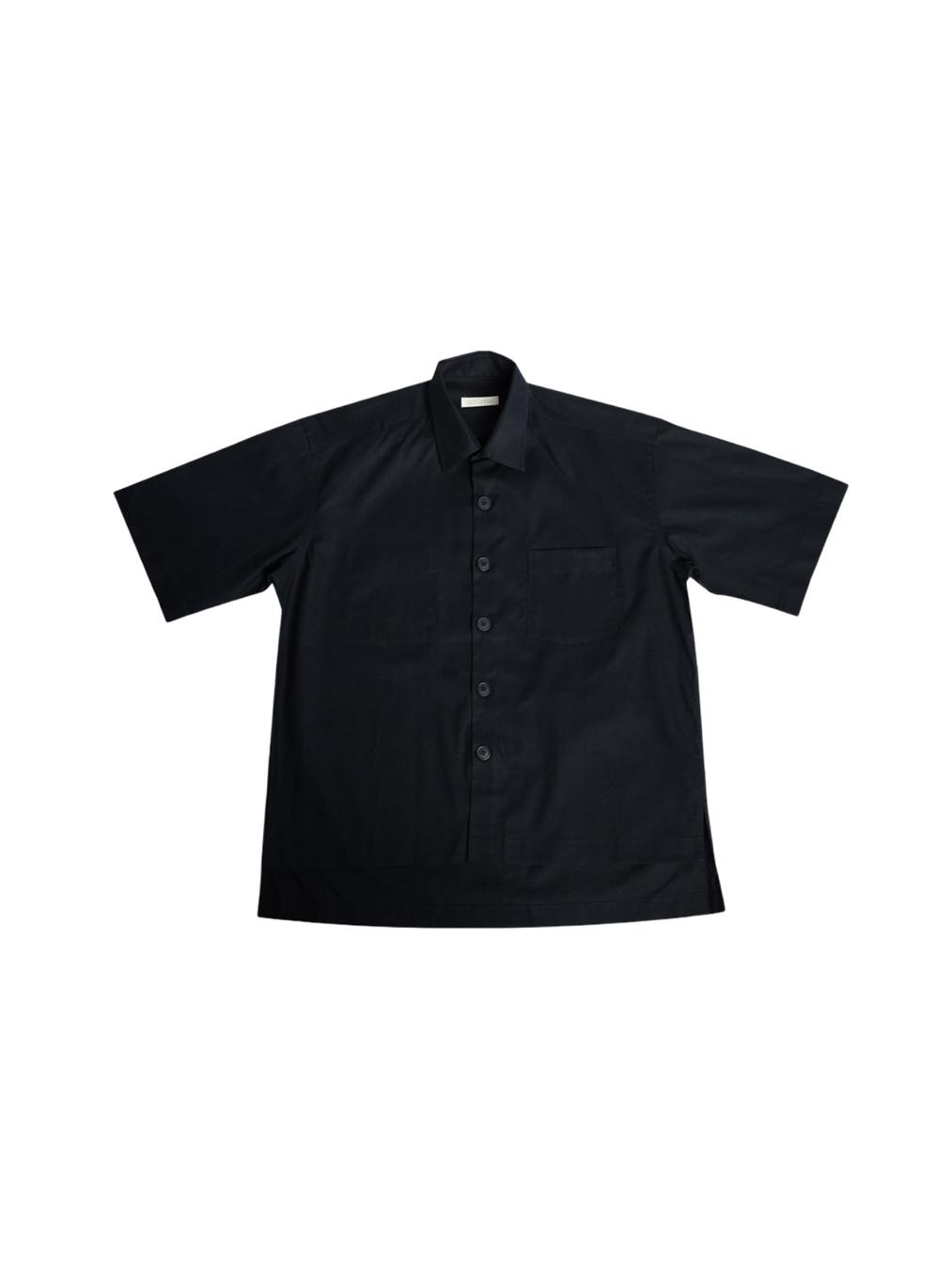 Wright Flyer Overshirt (matte black)