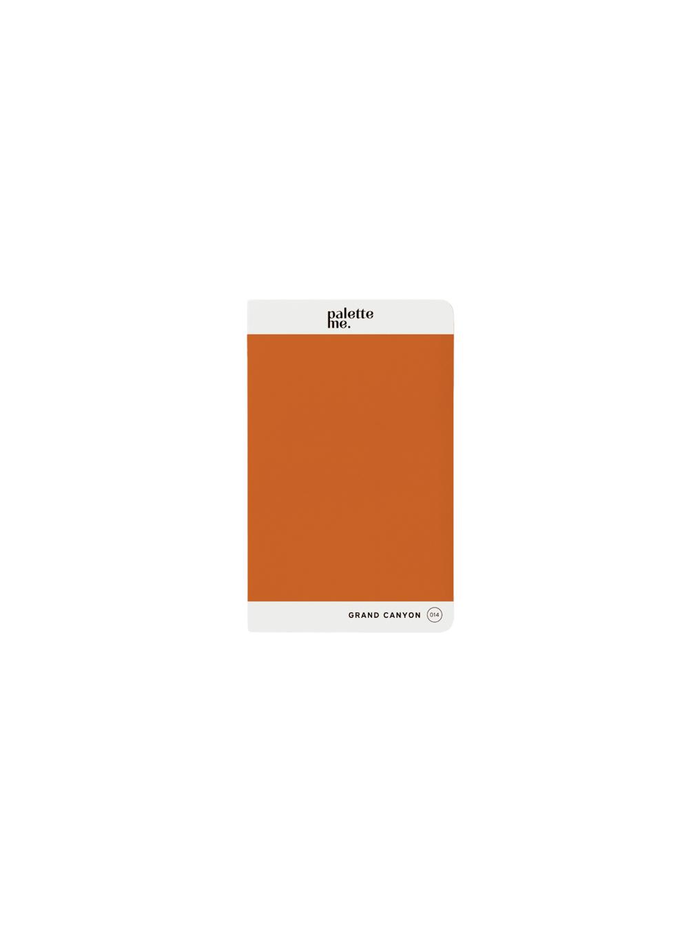 Palette Me Mini Notebook (GRAND CANYON)