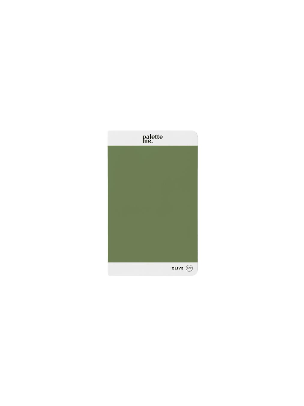 Palette Me Mini Notebook (OLIVE)