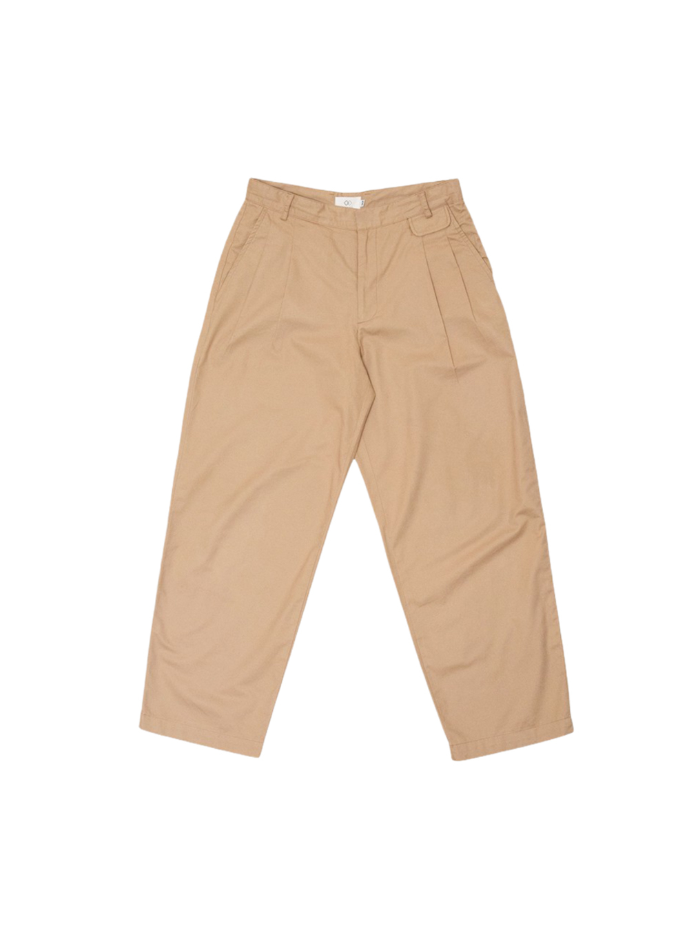 Mens ankle trousers (Brown)