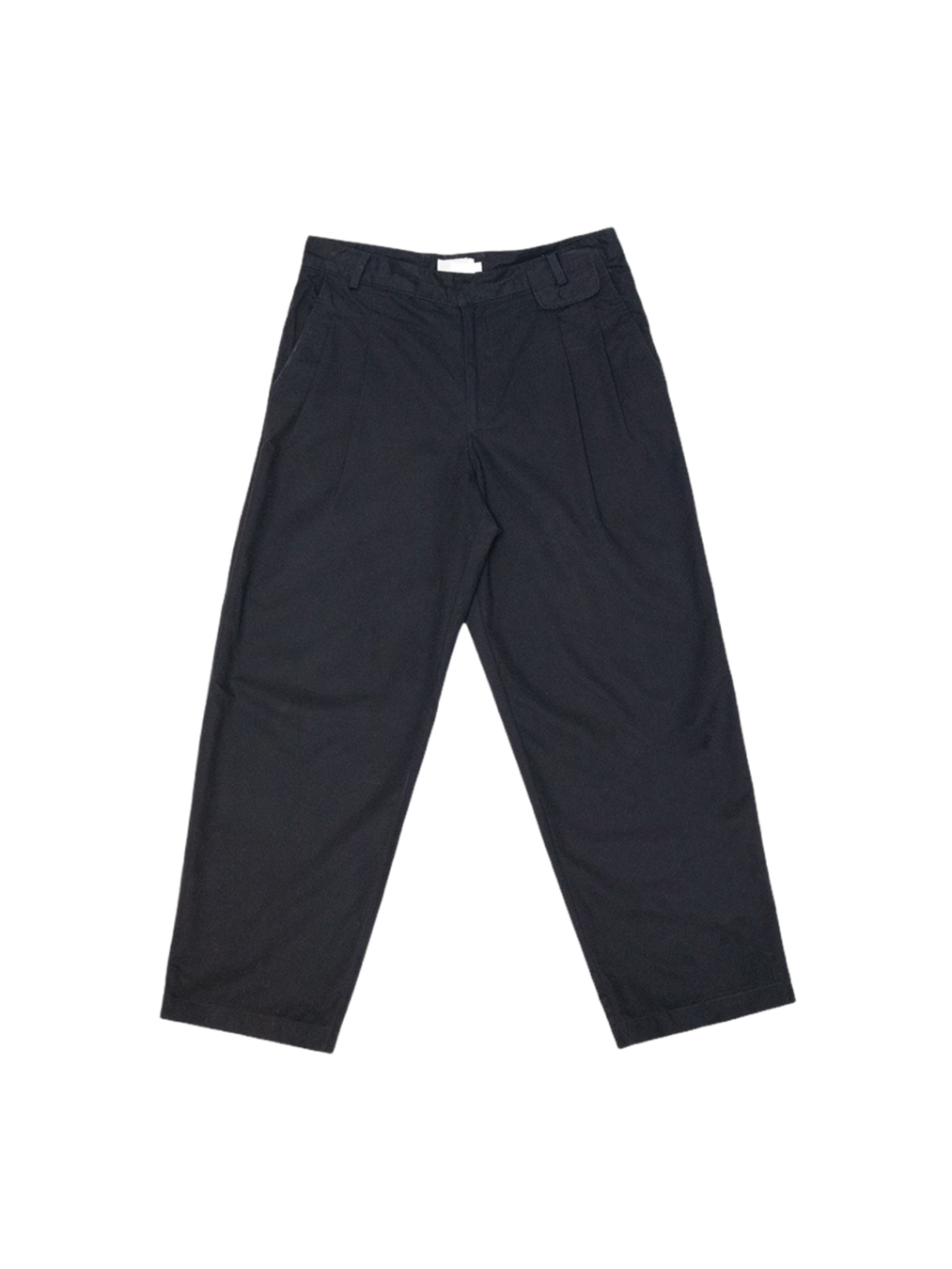 Mens ankle trousers (Black)
