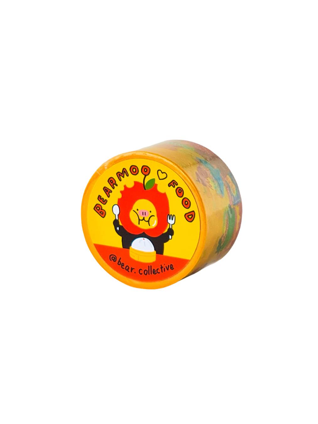 Bearmoo Love Food Tape