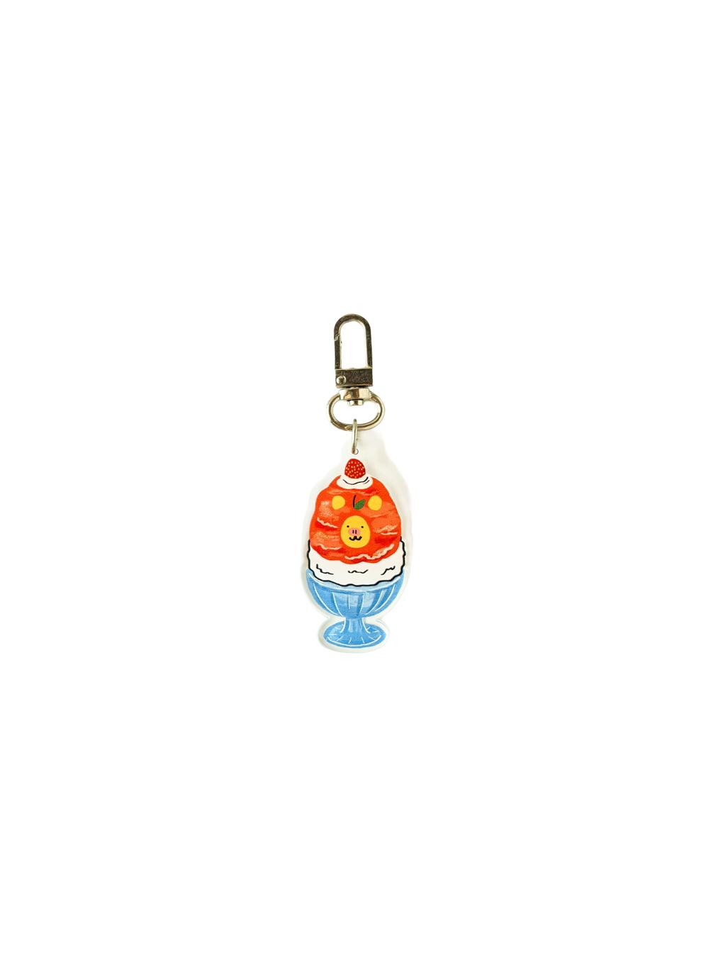 Bearmoo Kakigori Keychain