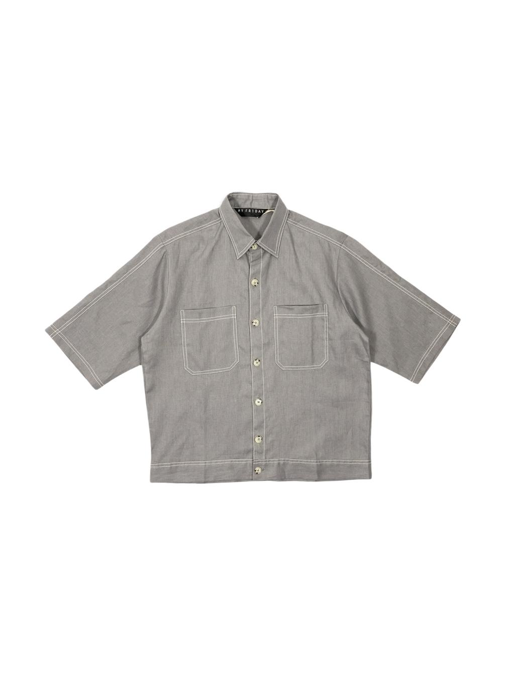 Short Sleeve Jacket (Gray)