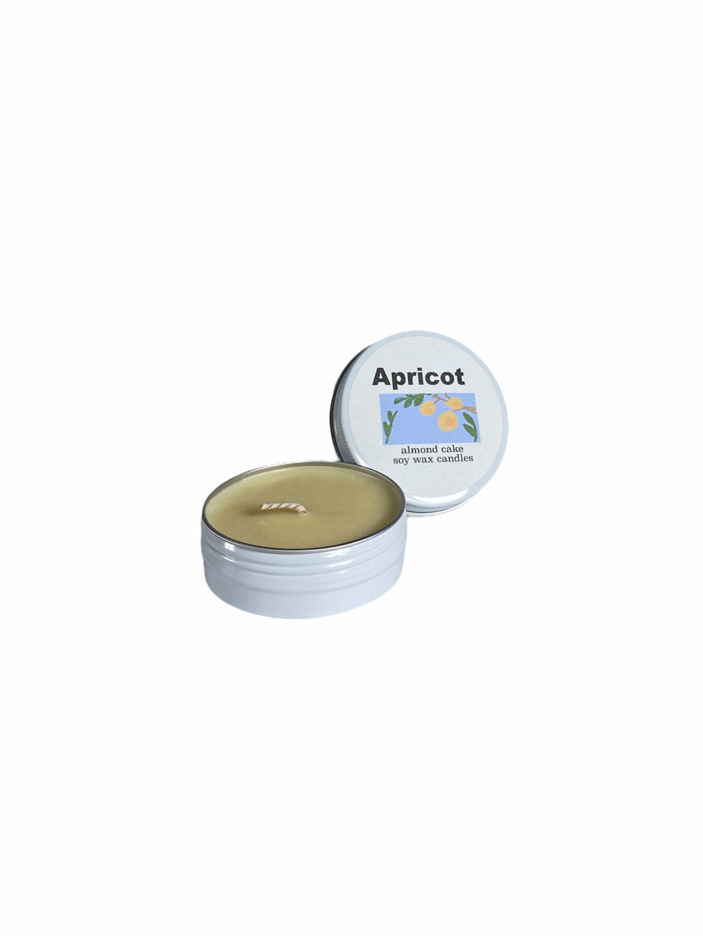 Apricot Almond Cake Soy Wax Candle