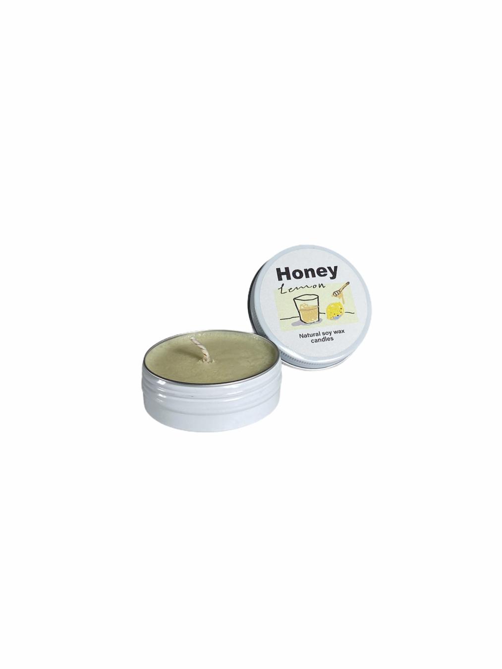 Honey Lemon Soy Wax Candle
