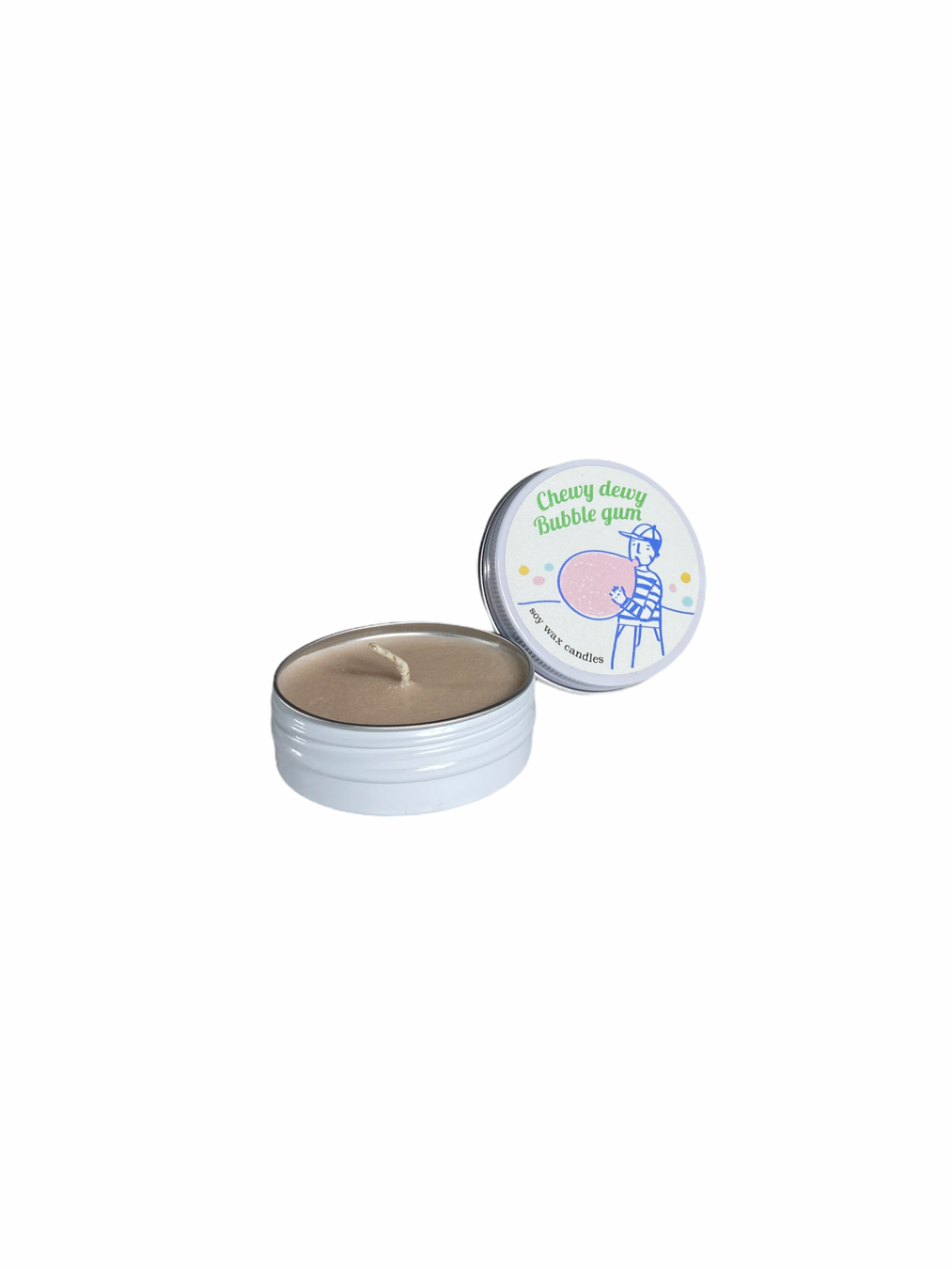 Bubble Gum Soy Wax Candle