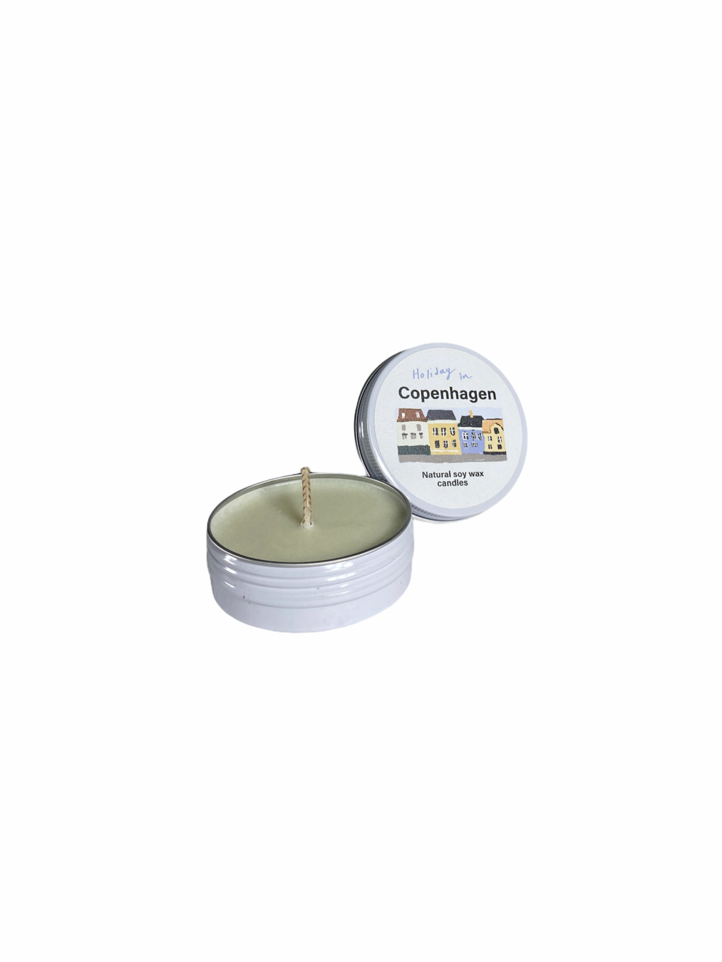 Holiday In Copenhagen Soy Wax Candle