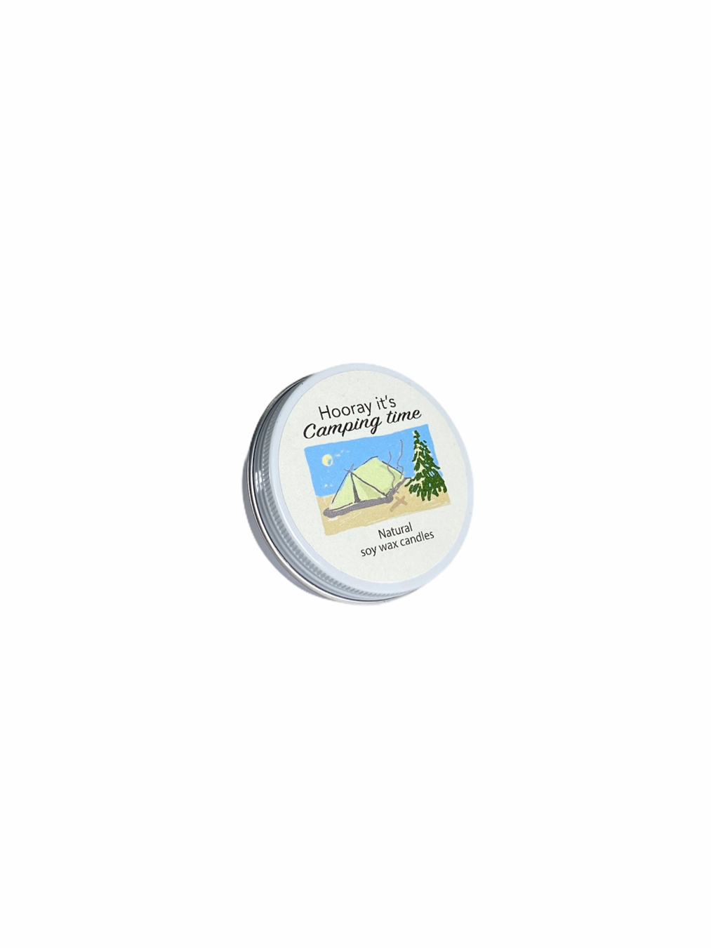 Camping Time Cassette Soy Wax Candle