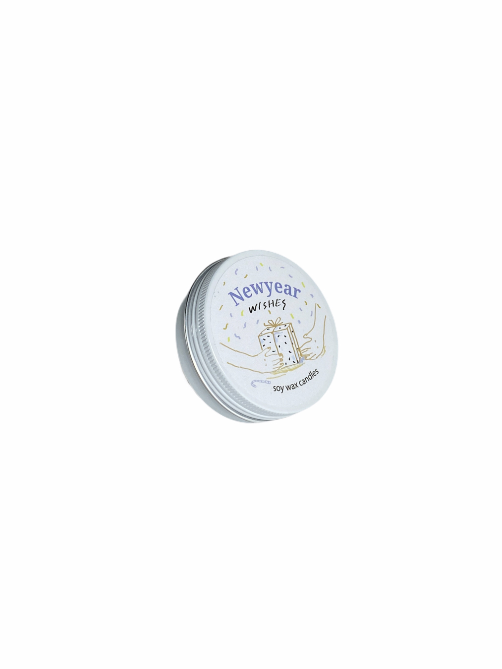 Newyear Wishes Soy Wax Candle