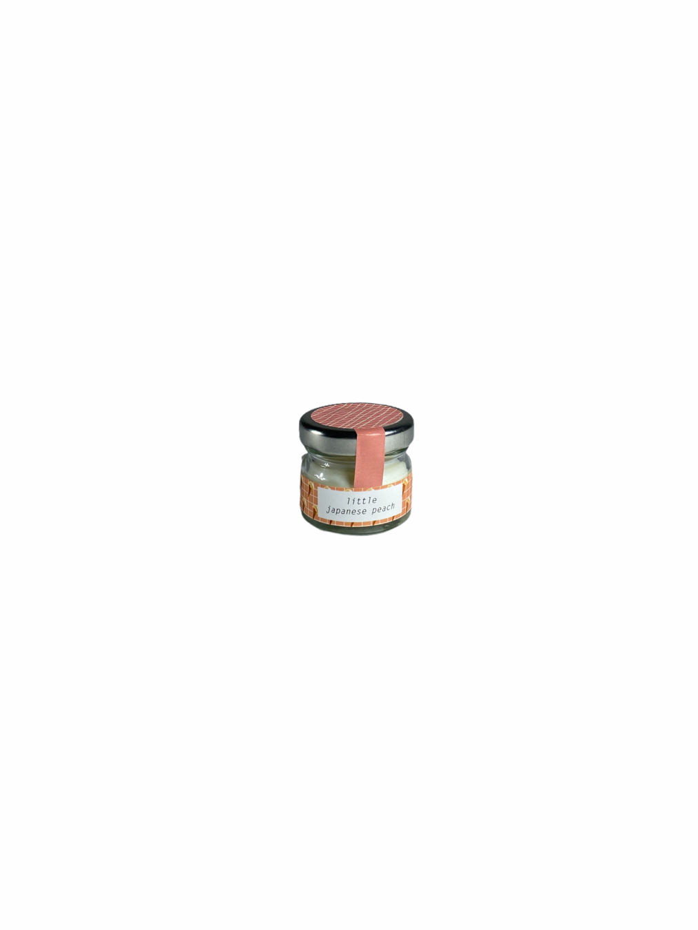 Little Japanese Peach Candle