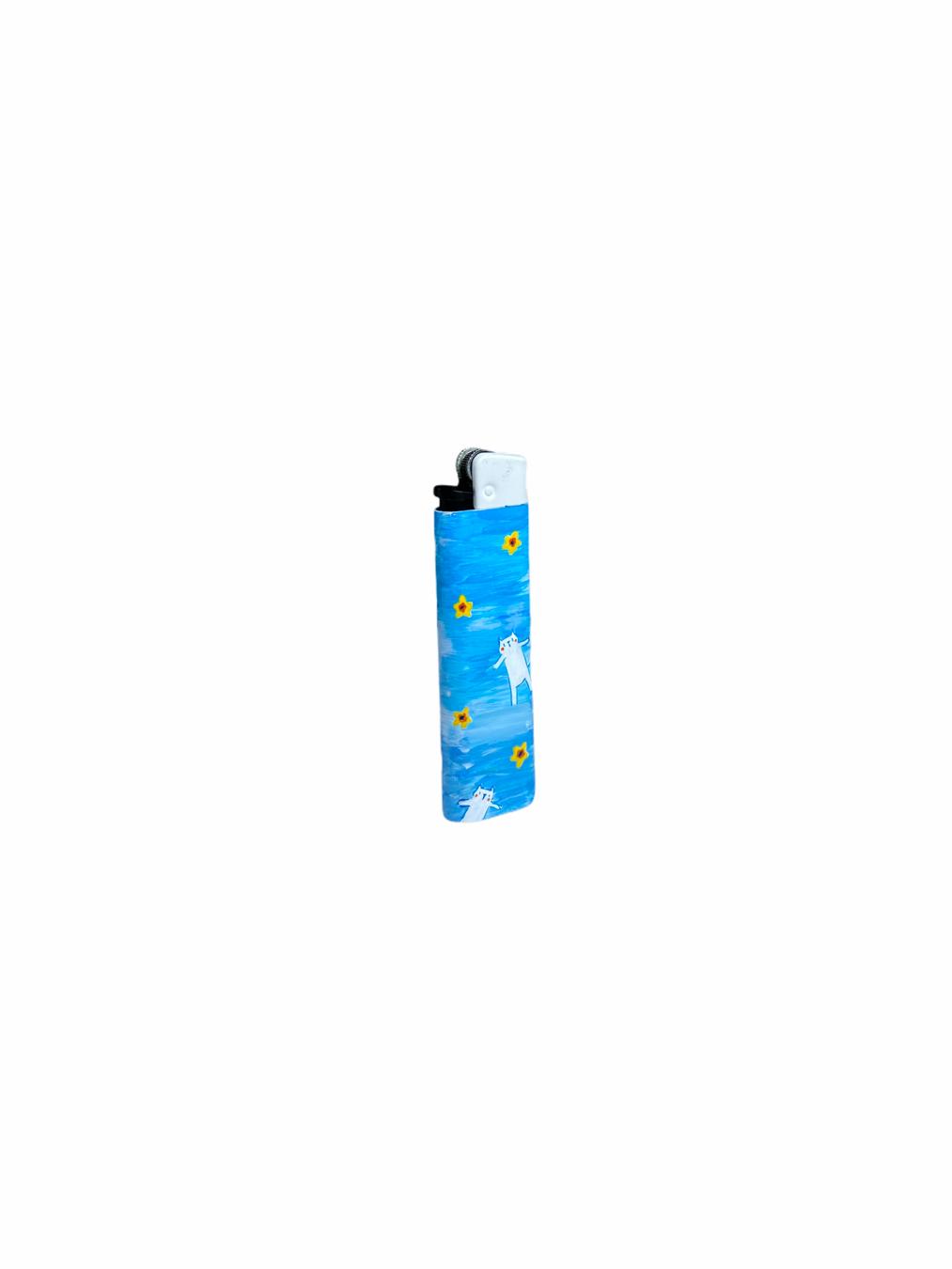 Sneakarette Painted Lighter (Blue)