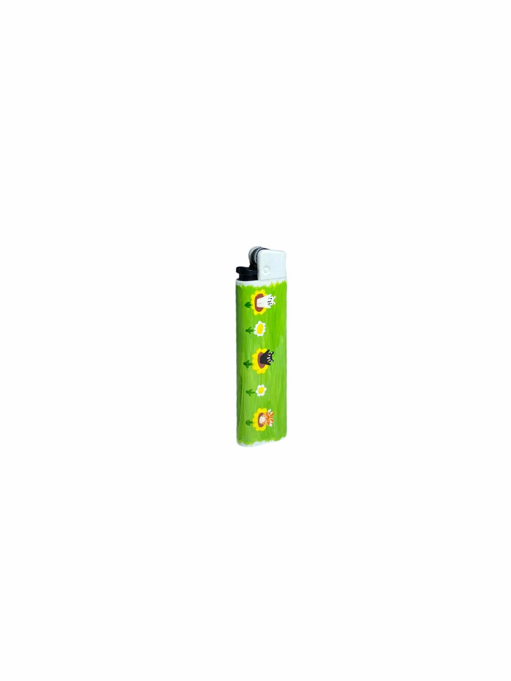 Sneakarette Painted Lighter (Green)