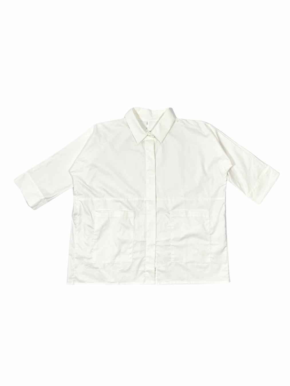 Classic Over Shirt (White)