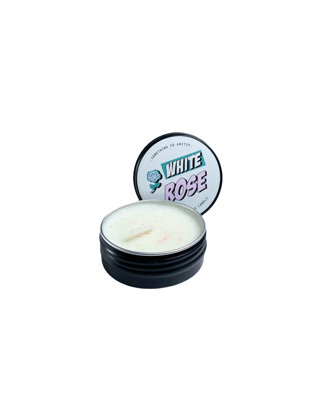 White Rose Soy Wax Candle