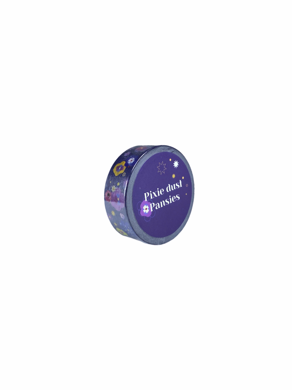 Masking Tape - Pixie Dust Pansies