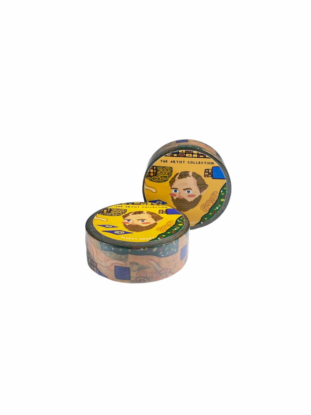 Gustav Klimt (Masking Tape)