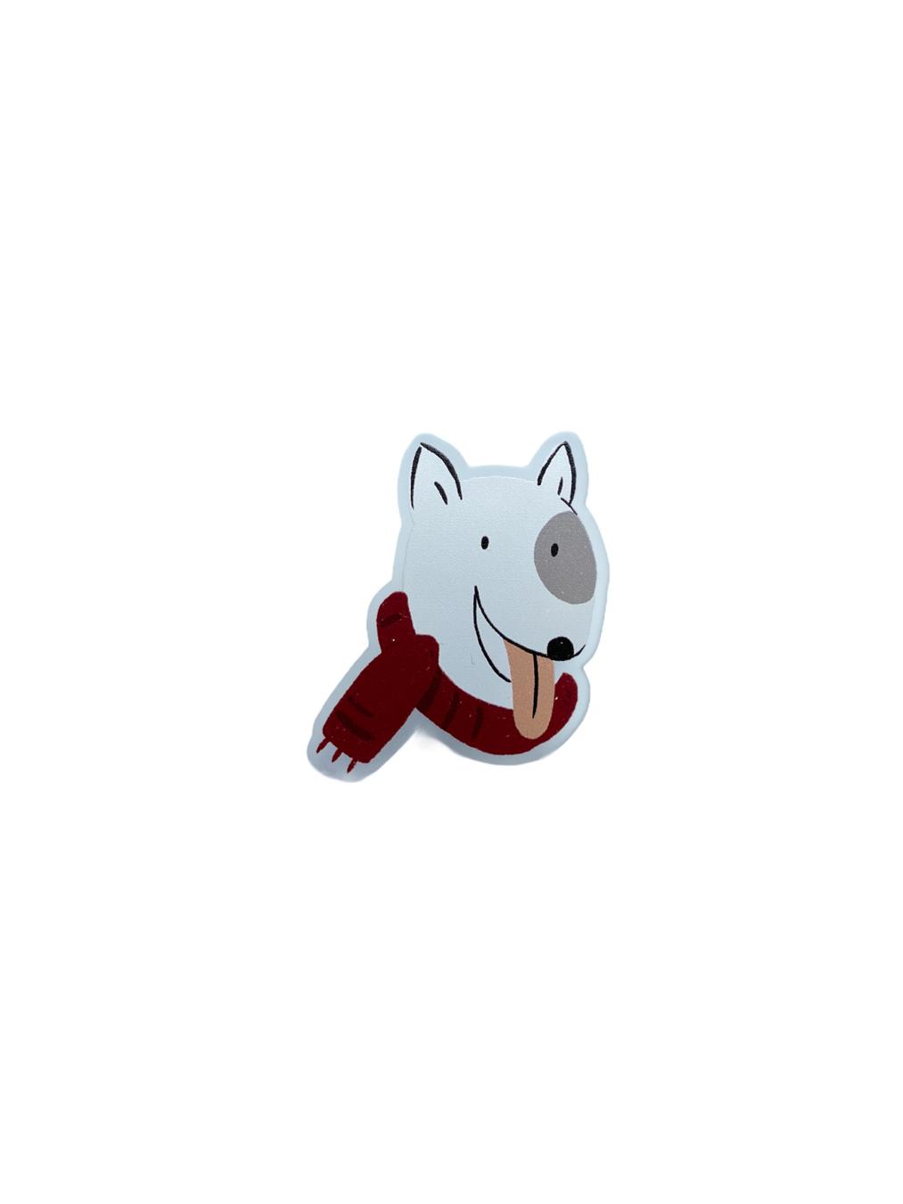 Brooch - Bull Terrier