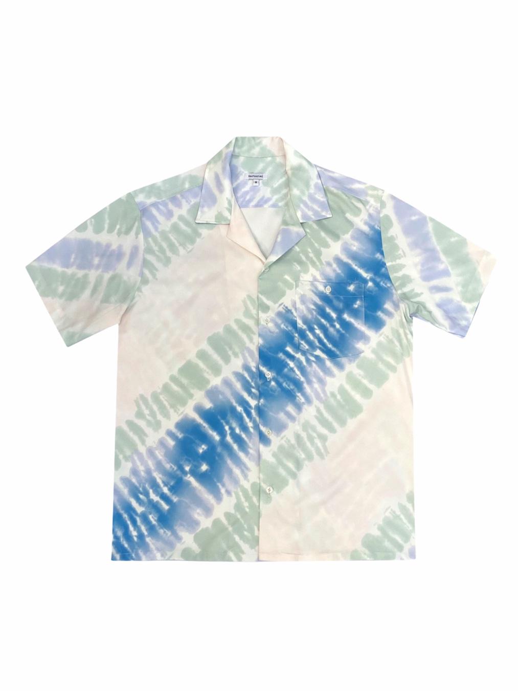 Pyjamas Tie - Dye Shirt (Blue)
