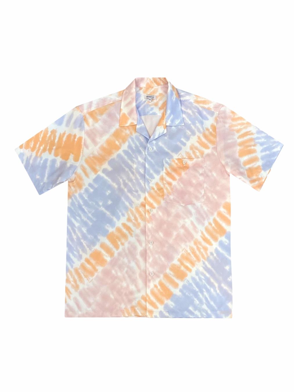 Pyjamas Tie - Dye Shirt (Orange)