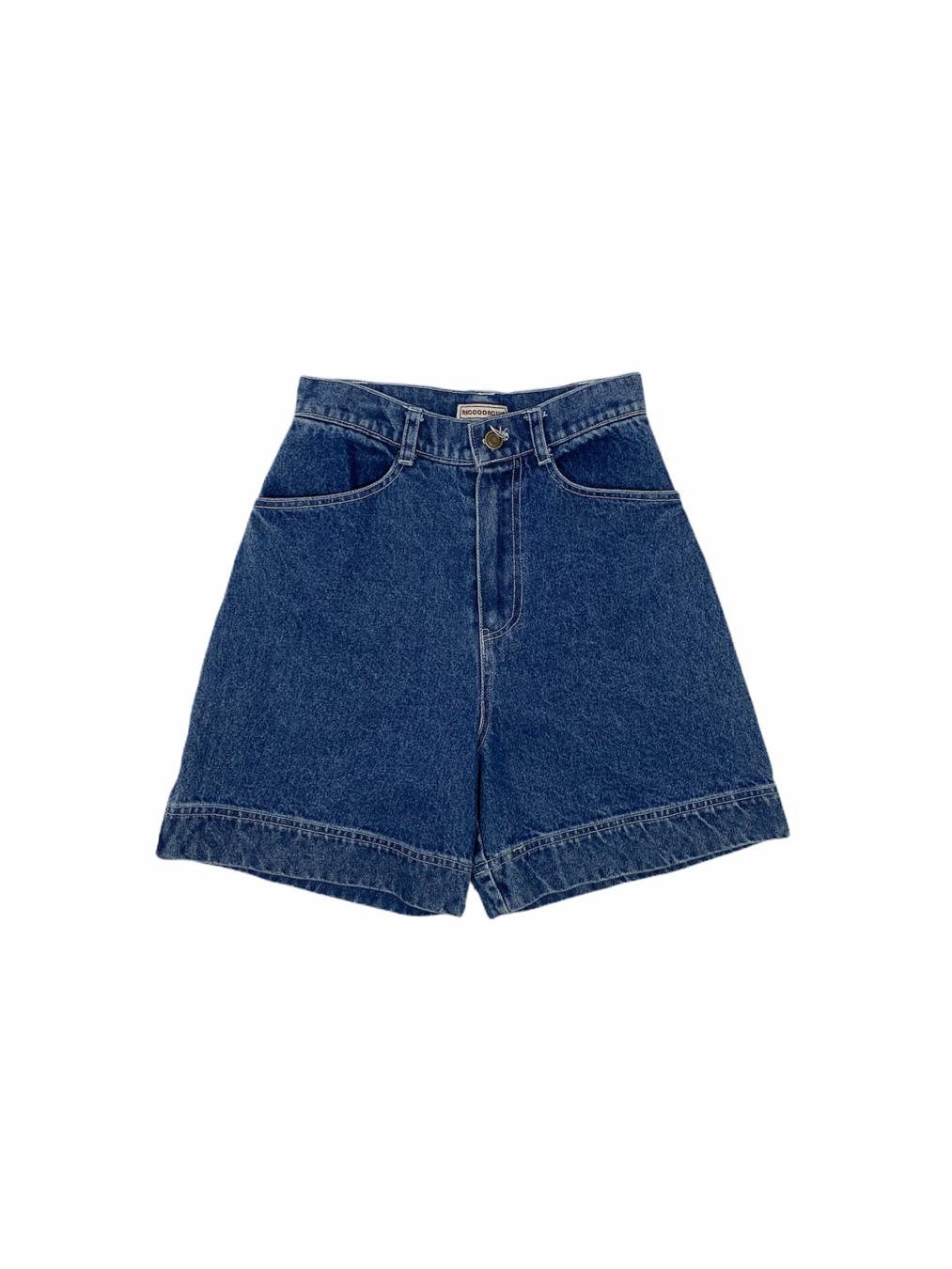 Middle Short Pants (Denim)
