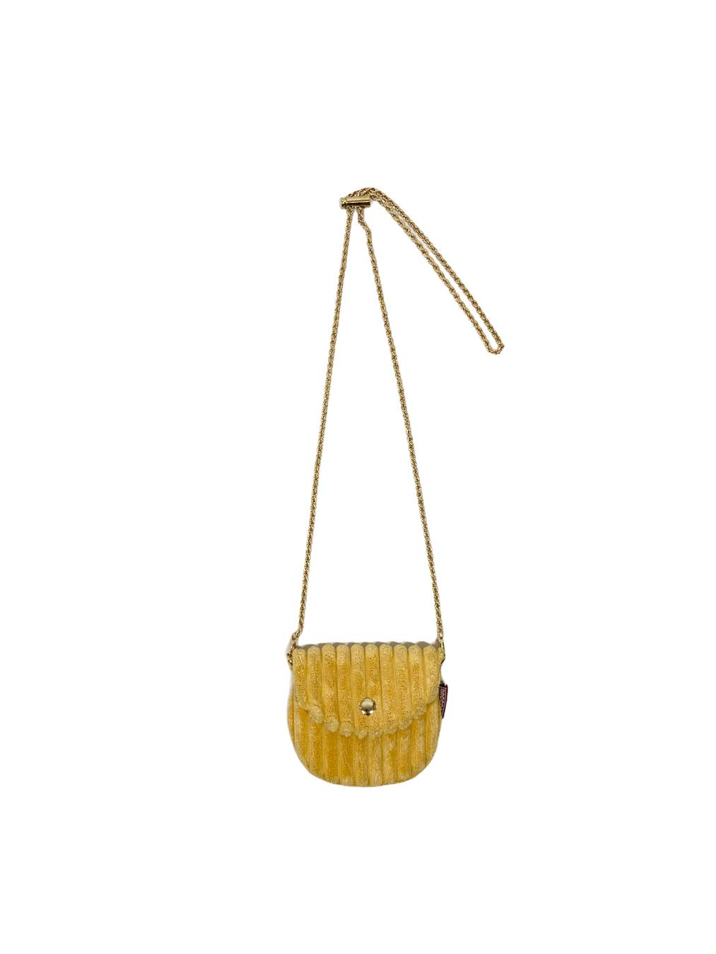 Mini Corduroy Bag (Yellow)