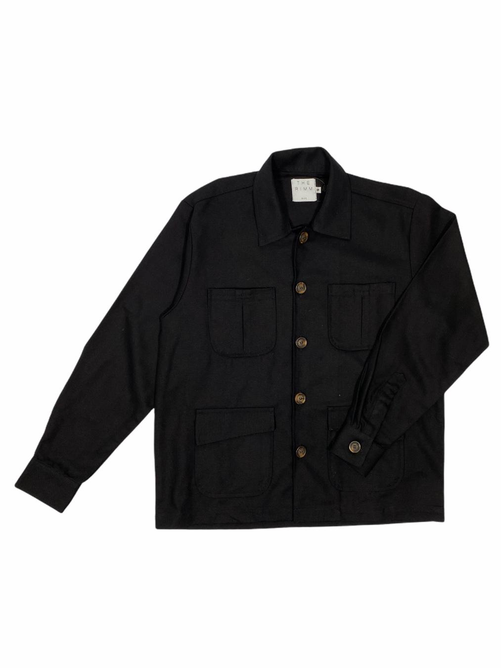 4 Pockets Jackets (Black)