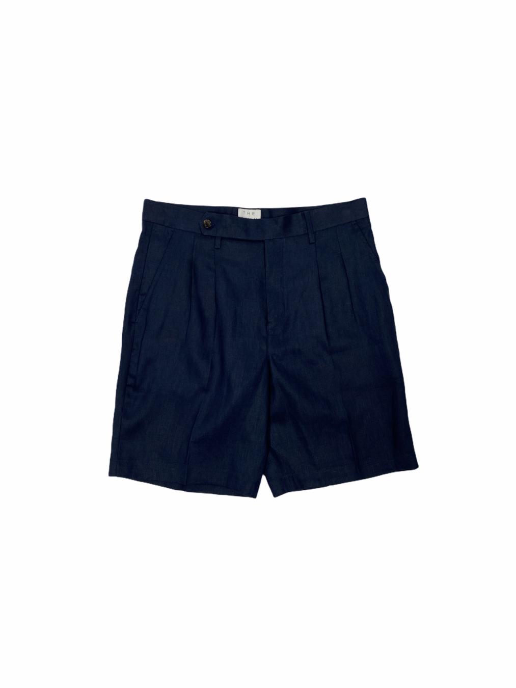 Linen wanderlust shorts (Navy)