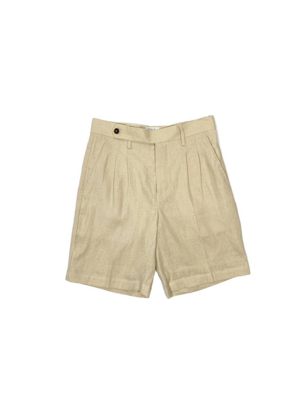 Linen wanderlust shorts (Cream)