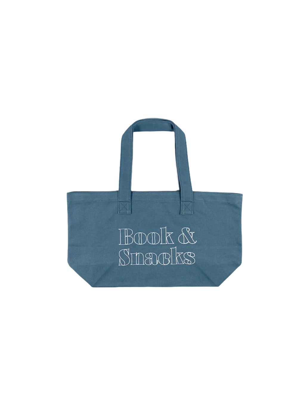 Book & Snack (Denim)