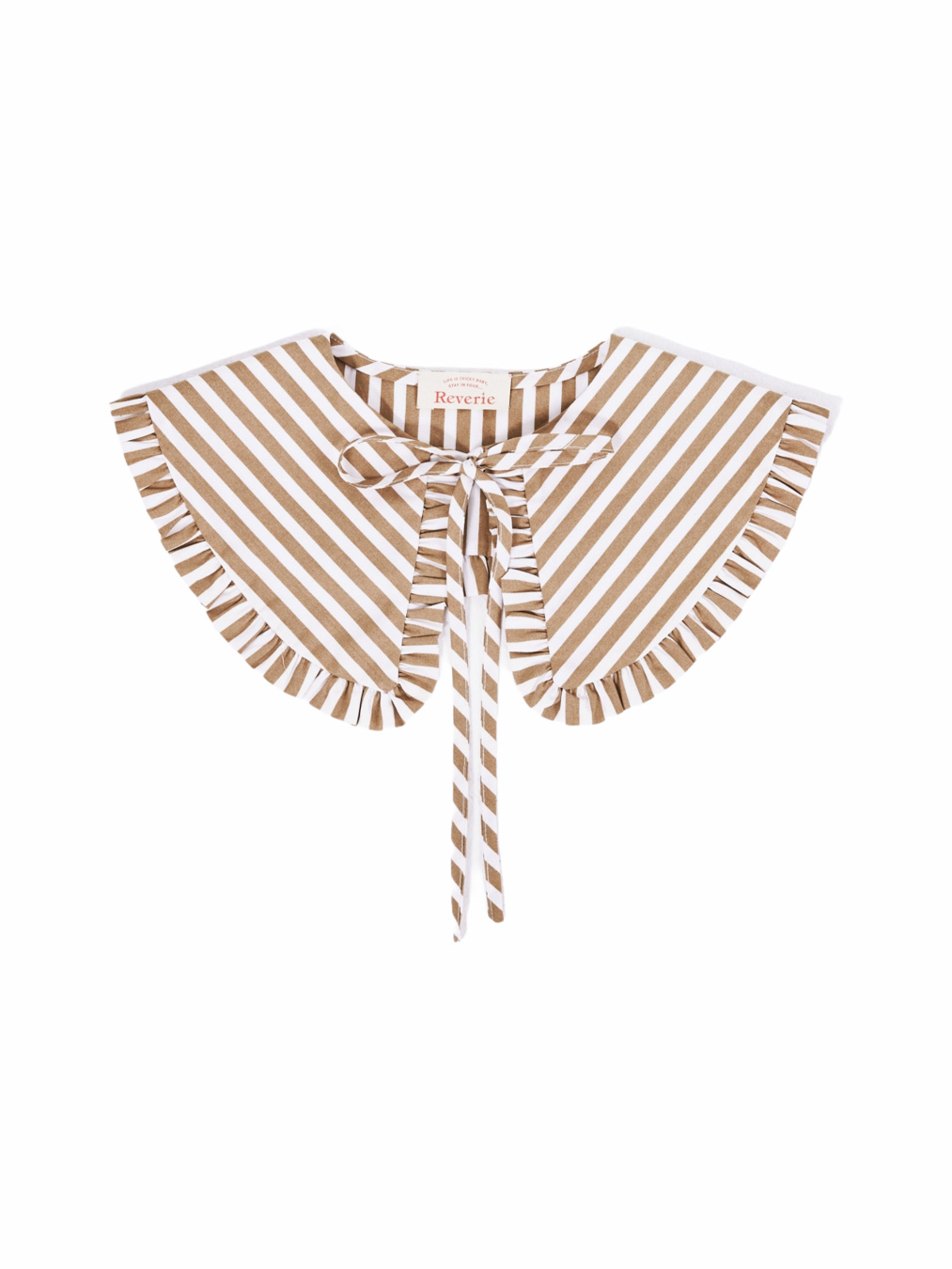 Holiday Collar (Brown Striped)