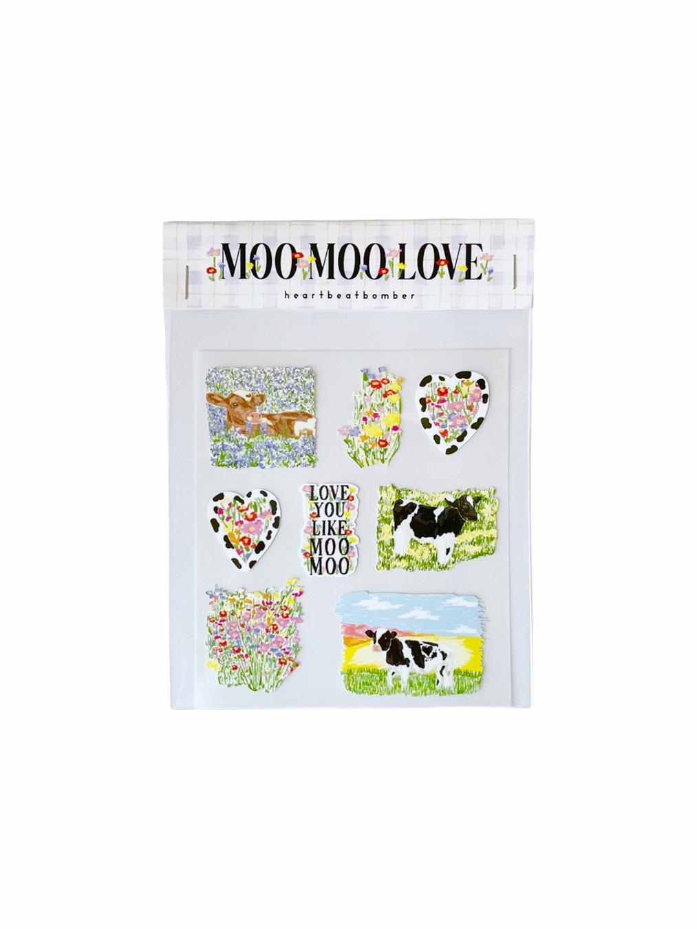 Sticker - Moo Moo Love