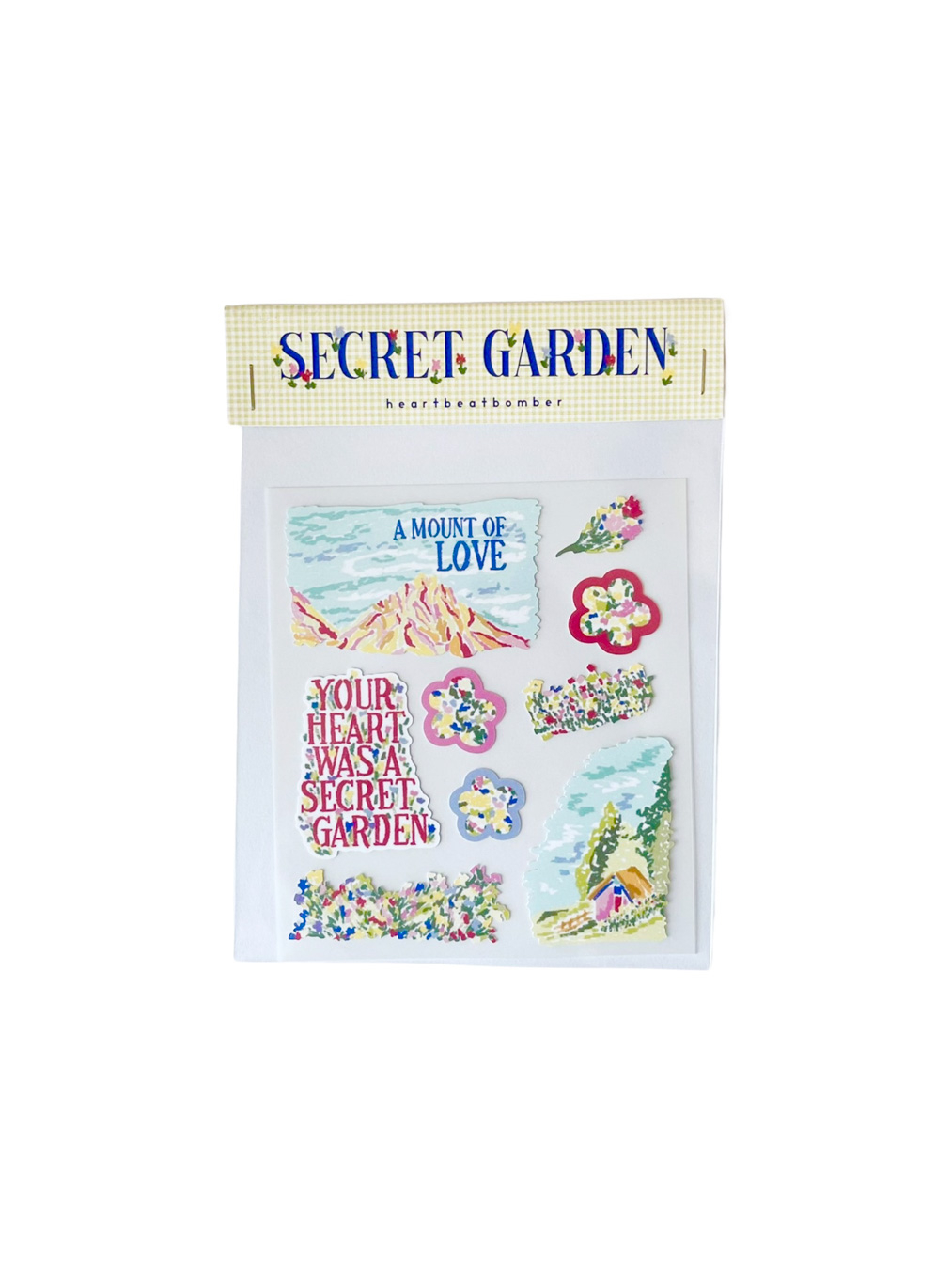 Sticker - Secret Gardan