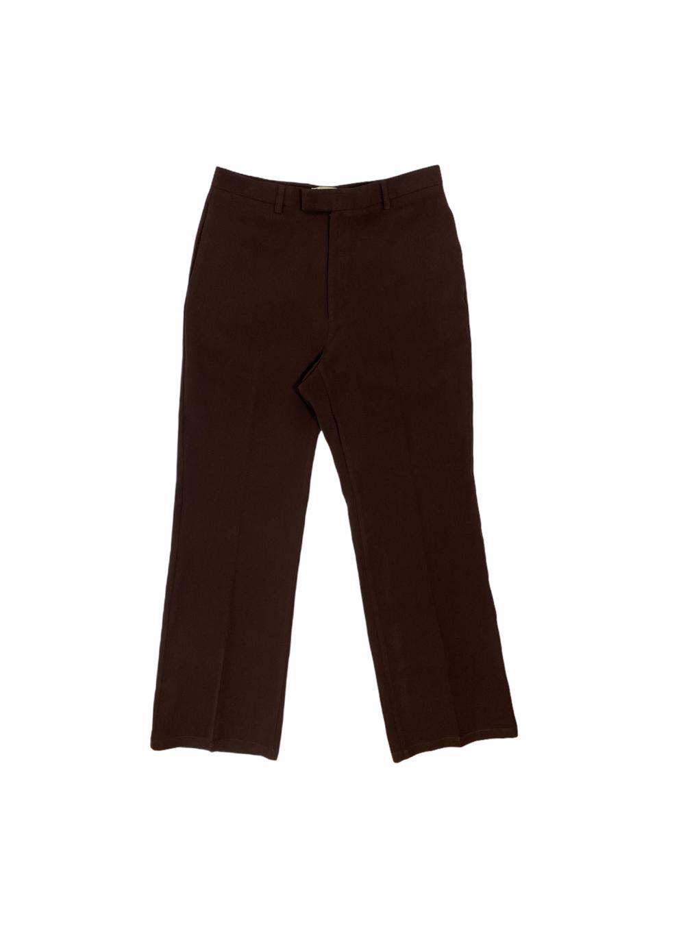 Men's Shaggy Pants (Dark Brown)