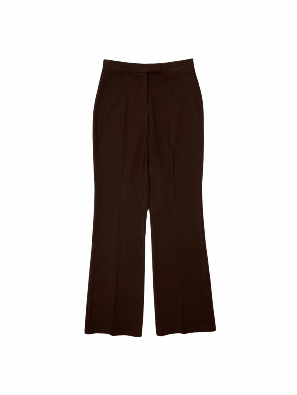 Womens Shaggy Pants (Brown)