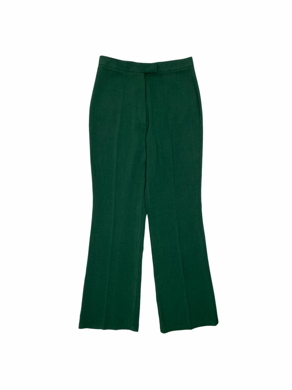 Womens Shaggy Pants (Green)