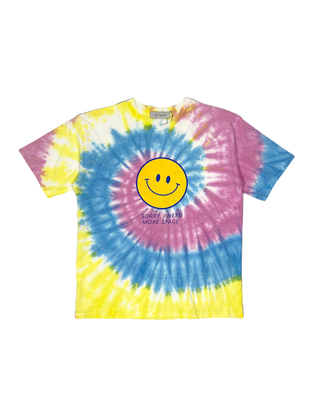 Sorry I Need More Space T-Shirt (Tie Dye Yellow)