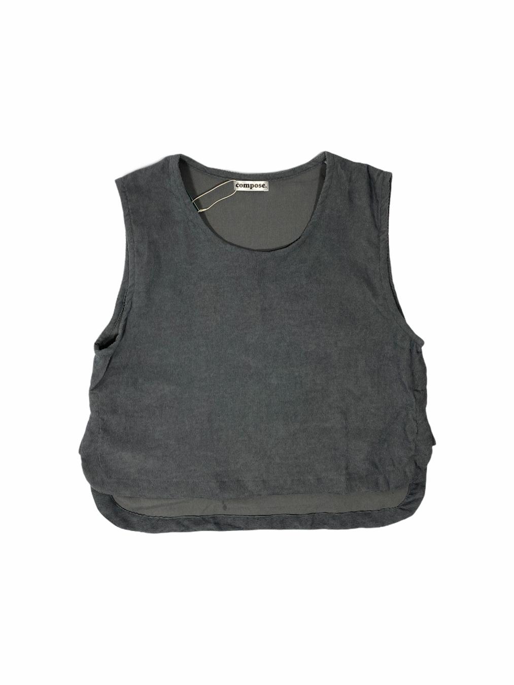 C/C Vest (Dark Grey)