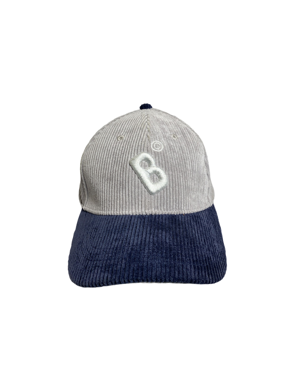 Bangkokr Cap (Gray/Navy Corduroy)