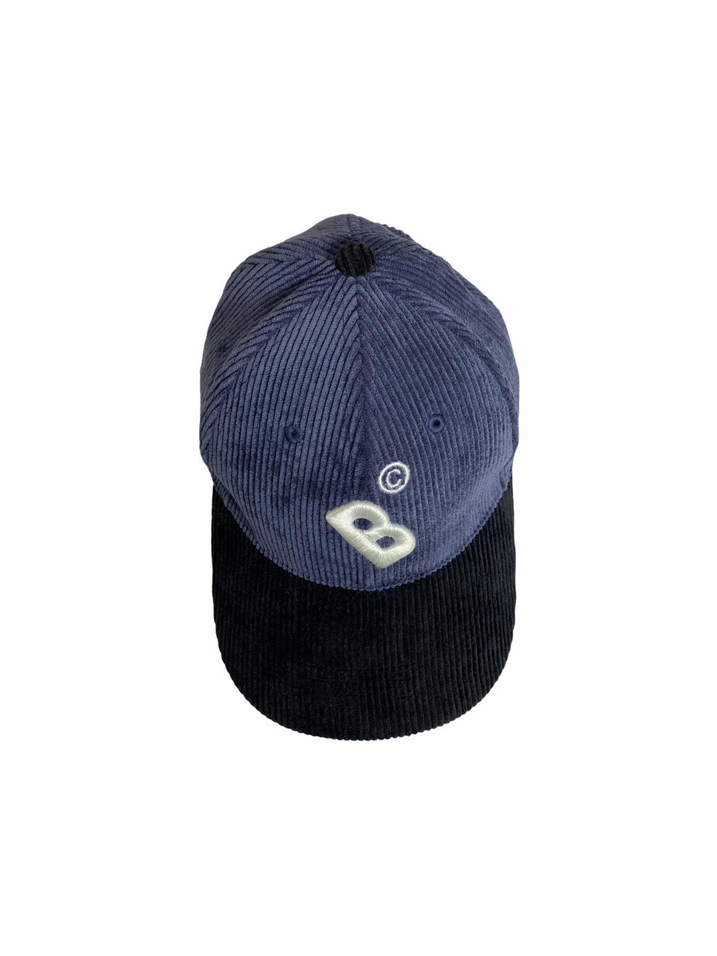 Bangkokr Cap (Navy/Black Corduroy)