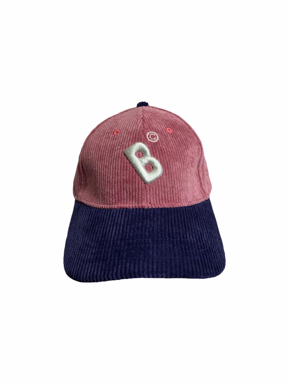 Bangkokr Cap (Pink/Navy Corduroy)