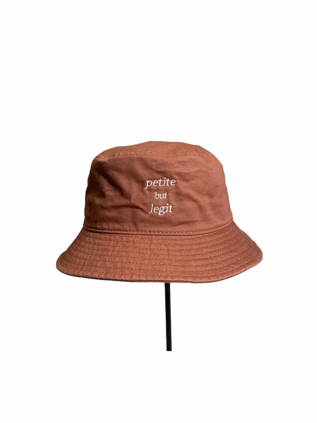 Petite But Legit Bucket Hat (Sandstone)