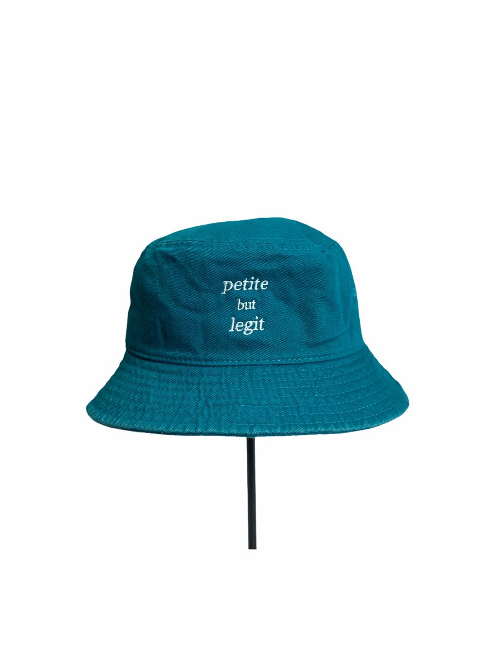 Petite But Legit Bucket Hat (Teal)