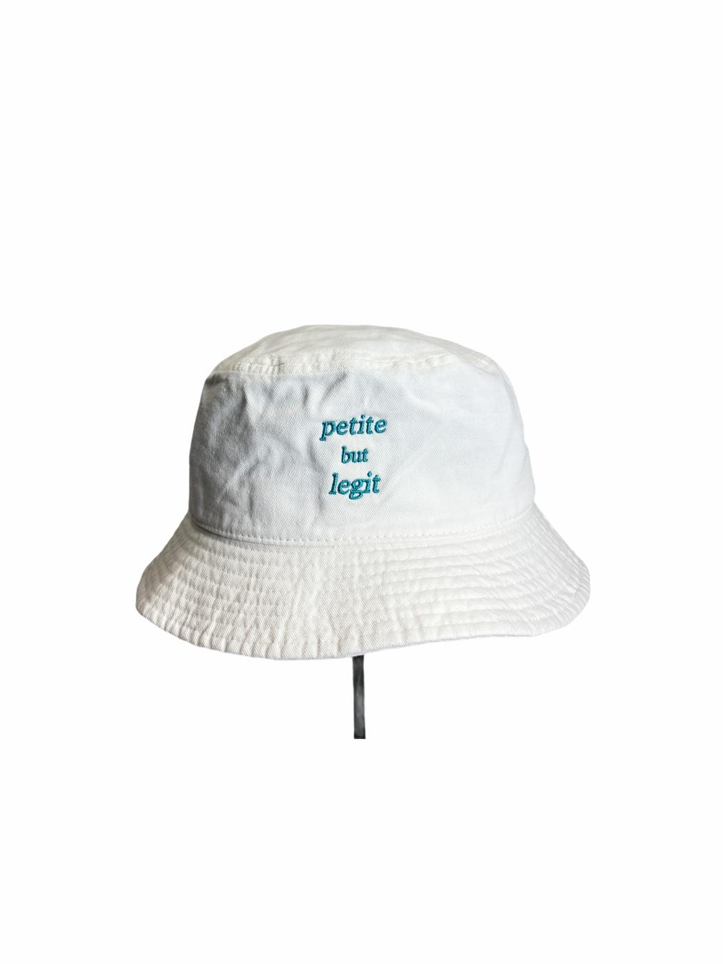 Petite But Legit Bucket Hat (Off-White)