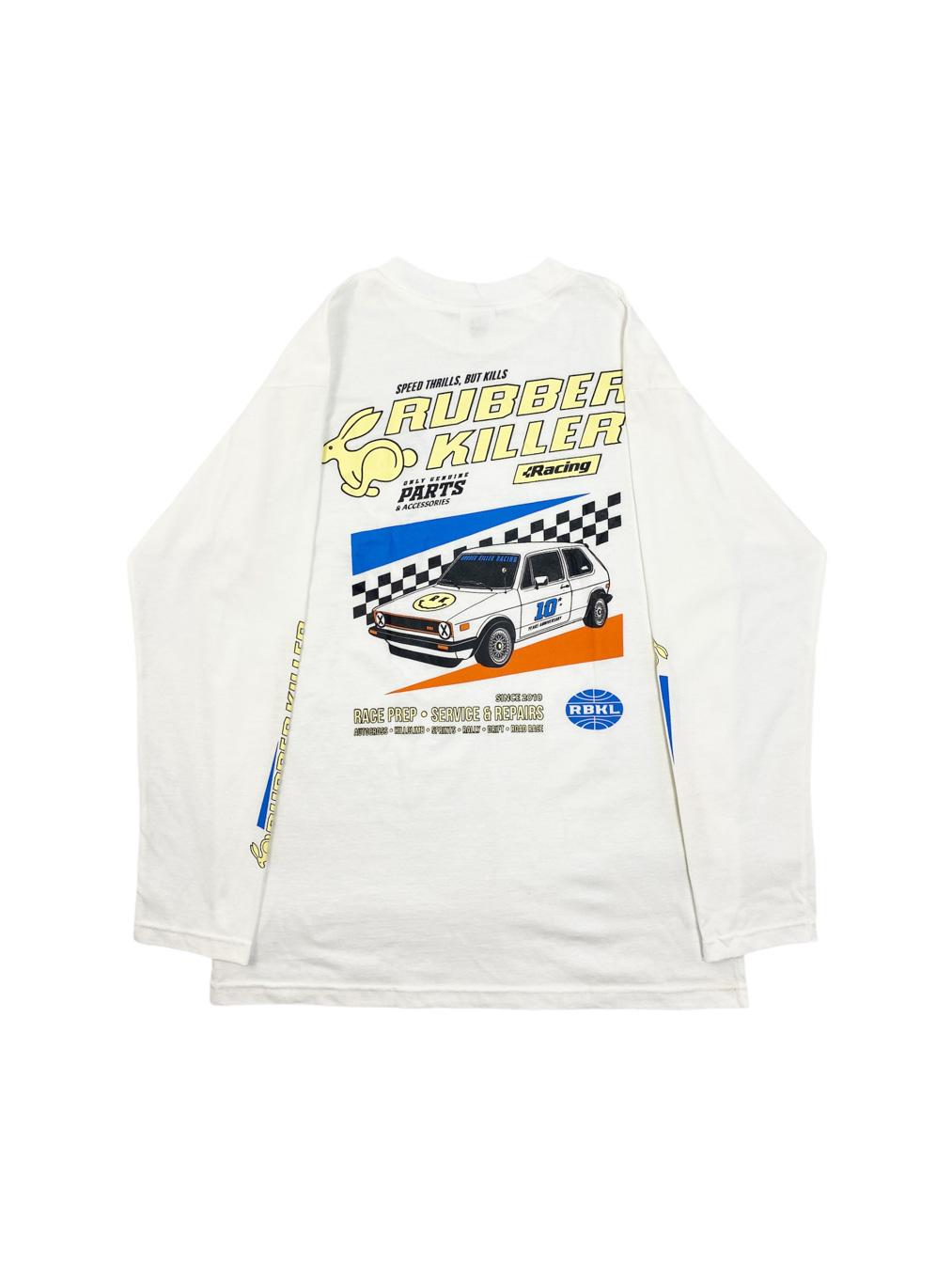 RK Racing Service Tee (White)