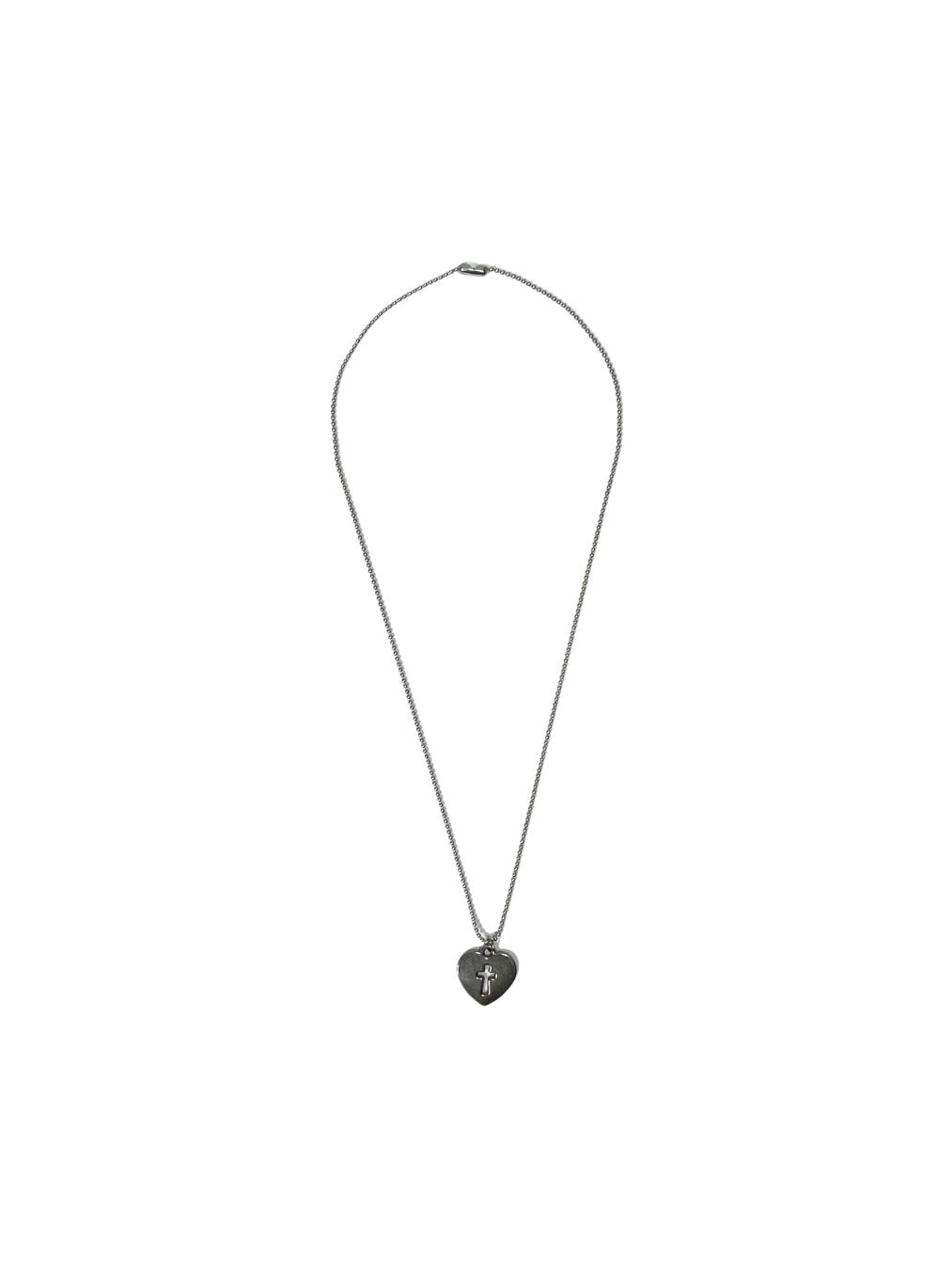 Necklace (Heart cross)
